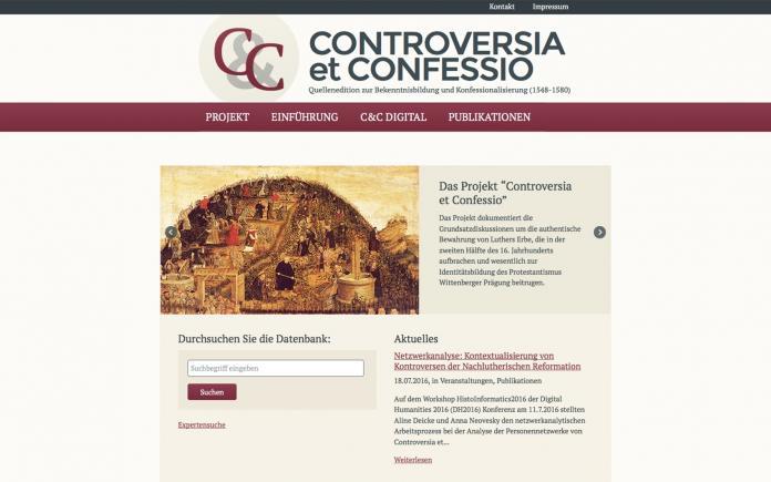 Controversia et Confessio