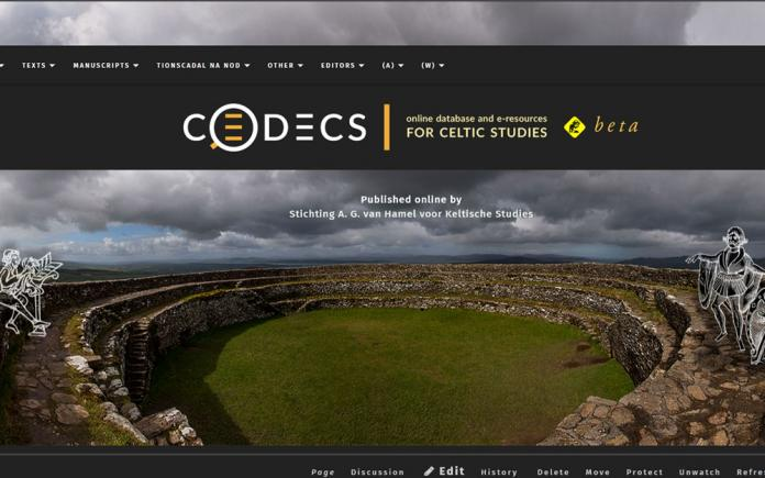 screenshot of CODECS