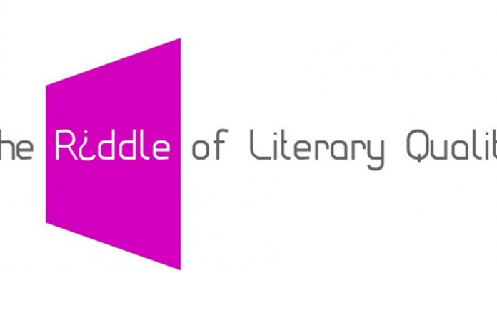 The Riddle of Literary Quality
