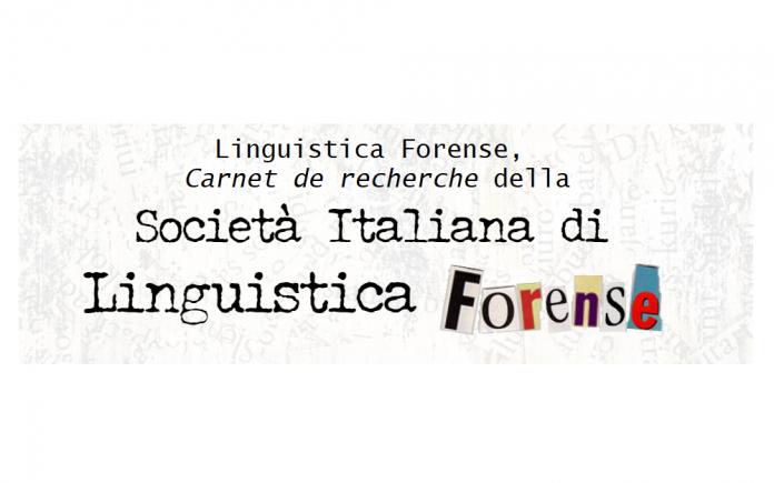 Linguistica Forense logo