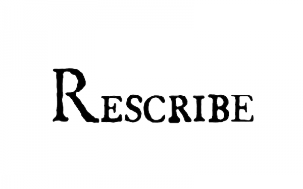 rescribe