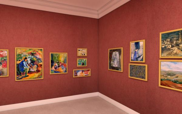 The National Virtual Reality Museum for Modern Art
